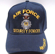 U.S. AIR FORCE SECURITY FORCES Cap/Hat BLUE Military *Free shipping*