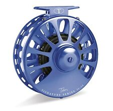 Tibor Signature Fly Reel, Size 7/8, Royal Blue, NEW!  FREE FLY LINE!