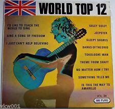 WORLD TOP 12 Vol 36 Released December 1971.