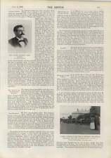 1900 Emanuel Lasker Chess Champion Mary Kingsley Funeral Cortege
