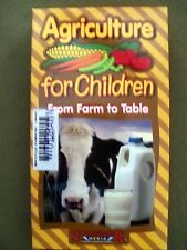 Agriculture for Children: From Farm to Table (2001, VHS) HARD TO FIND!!!!!!