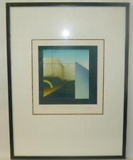 """Unl. con firma litografico """"natura morta con arcobaleno"""" (251/13008)"""