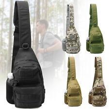 Men Backpack Tactical Sling Chest Bag Shoulder For Outdoor Travel Camping Hiking