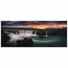 Waterfall Image Traditional Landscape Art Landscape Photography on Acrylic