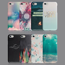 QUOTES HAPPY LOVE GOOD VIBES PHONE CASE FOR IPHONE 7 8 XS XR SAMSUNG S8 S9 PLUS