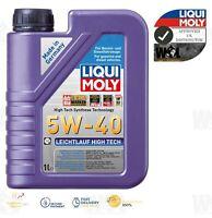 Liqui Moly Leichtlauf High Tech SAE 5W40 Engine Oil ACEA A3/B4 2328 1 L