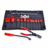 13Pcs Auto Upholstery Nylon Trim Removal with Clip Pliers Fastener Remover Tool