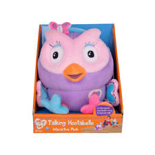 Giggle and Hoot Soft Plush Talking Hootabelle Toy