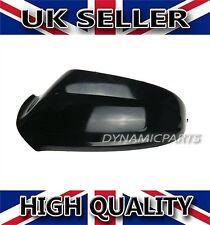 Vauxhall ASTRA G MK4 PORTA Specchietto Laterale Coprire Cap COFANO SINISTRO / NSF 98-04 nero