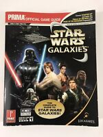 Star Wars Galaxies Official Game Guide Prima 2005