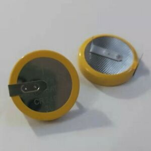Lot 5 PCS x Tabbed 3V CR2450 Battery Coin Cell Button 2 Tabs/Pins 20mm