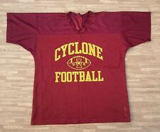 Iowa State Cyclones Football Mesh Jersey ~ Mens ~ XXL / Large L ~ Burgundy NCAA