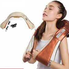 Shiatsu Back Neck Massager 3D Shawl Electric Roller Heat Device Massage Machine