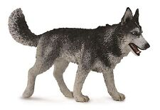 Husky 10 cm Animales Salvajes Collecta 88707