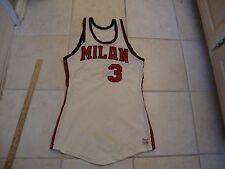 Vintage Milan Indians Basketball Hoosiers Movie high school RARE Jersey