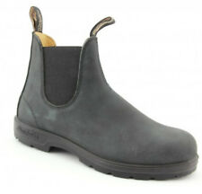 Blundstone Style 587 Australian Chelsea Boots - Premium Rustic Black Leather