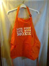 Moxie Soda Apron. Brand New. Full size. Adjustable neck, tie waist. Front pocket