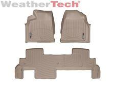 WeatherTech Car Mat FloorLiner for Enclave/Acadia/Outlook -1st & 2nd Row - Tan