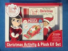 The Elf on the Shelf Christmas Activity & Plush Elf Set 48 Pc Puzzle,Book,Poster