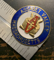 Assabet Valley Massachusetts Vintage Youth Hockey Metal Enamel Pin - VG Conditio