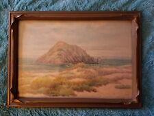 Annie Van Leeuwen EARLY CALIFORNIA water color ca 1930