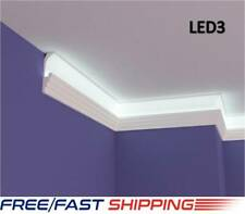 XPS Polystyrene LED Indirect Lighting Up lighter Lightweight Coving Cornice LED3