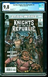 Star Wars: Knights of the Old Republic 29 CGC 9.8 NM/M Jedi Sith Copy 1