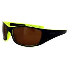 Occhiali da sole da uomo con montatura in blu e lenti in marrone 100% UV