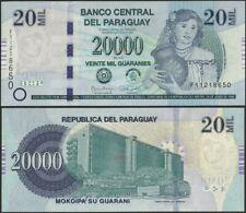 Paraguay,P238,B862a,20000 Guarani,2015,UNC @ Ebanknoteshop