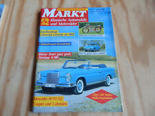 Oldtimer Markt Heft Nr. 4 April 1990 Mercedes W 111/112 Zündapp K400 Chevrolet C