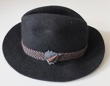 eleganter Trachten Lodenhut Wolle Gr. 56 NEU Hut Wasserdicht für Jagt und Sport