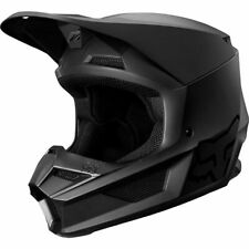 Fox Helmet Youth V1 Matte Black Offroad ATV Dirt Moto Motorcross
