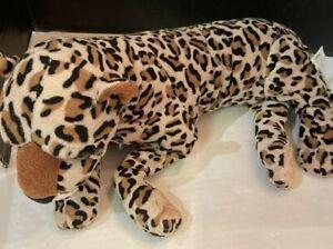 """Leopard Cheetah Disney Parks Worldwide Conservation Fund  23"""" Bean Plush Toy"""