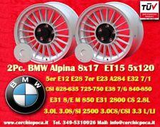 2 Cerchi BMW Alpine Style 8x17 ET15 5x120 5 6 7er Wheel Felge Llanta Jante TÜV