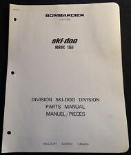 1969 BOMBARDIER SKI-DOO NORDIC SNOWMOBILE PARTS MANUAL ORIGINAL (913)