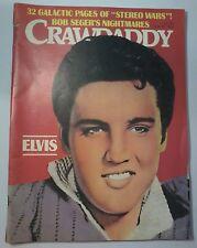 Crawdaddy Magazine Nov. 1977~ Elvis Presley~Bob Seger