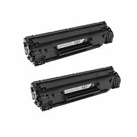 2PK NON-OEM Black Toner CF283A for HP 83A M127fn,M127fw,M125nw,M125