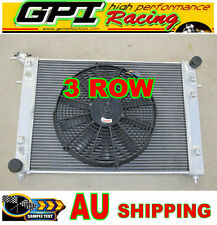 3ROWS Holden Commodore VN VG VP VR VS V6 3.8L ALLOY ALUMINUM RADIATOR & FAN