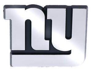 New York Giants NFL Car Truck Automotive Grill Emblem Chrome Finish F3D14D