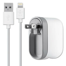 Belkin Swivel Charger 2.1 Amp Port Detachable Lightning Cable Wall Charger