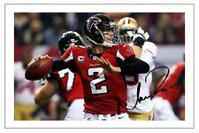 MATT RYAN ATLANTA FALCONS SIGNED PHOTO AUTOGRAPH PRINT NFL FOOTBALL