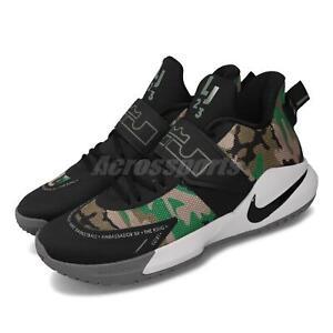 Nike Ambassador XII 12 LeBron James Black Camo Men Basketball Shoes BQ5436-004