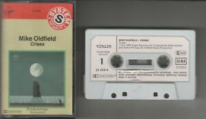 Mike Oldfield    MC / Tape / Kassette   CRISES    ©  1983  MOONLIGHT SHADOW