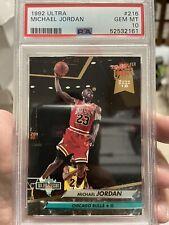 1992-93 Ultra Michael Jordan NBA Jam Session #216 PSA 10 Gem Mint 🔥📈 Low Pop!!