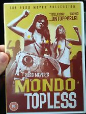 Russ Meyer's Mondo Topless DVD, All Region, Aus Seller, Like New, Free Postage