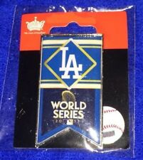 2017 World Series Los Angeles Dodgers Banner Pin