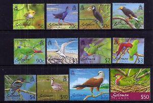 Solomon Is. 2001 Birds set fine fresh MNH