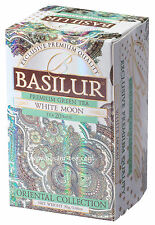 Basilur Tea-WHITE MOON-Latte Oolong Tè VERDE-confezione da 3 scatole (totale 60 Sacchetti)