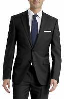 Calvin Klein Mens Suit Jacket Black Size 36 Short Tuxedo 2 Button Wool $425 #163