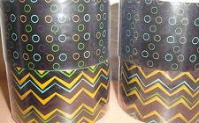 HALLOWEEN PRINTED TAPE LOT - Black Orange Dots - Target Brands Designer NEW!
